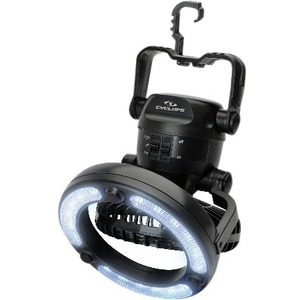 Cyclops Portable Fan Light 18LED Integrated Hook