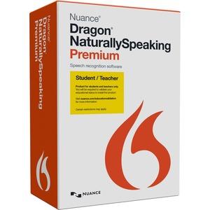 Nuance Dragon NaturallySpeaking v.13.0 Premium Student/Teacher - 1 User - Academic, Online Validation
