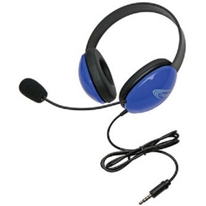 Califone Listening First Stereo Headset with To Go Plug