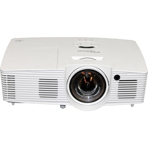 Optoma W316ST WXGA 3600 Lumen Full 3D DLP Short Throw Projector with 20,000:1 Contrast Ratio