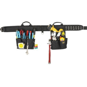 CLC 3 Piece Electrician's Combo Tool Belt
