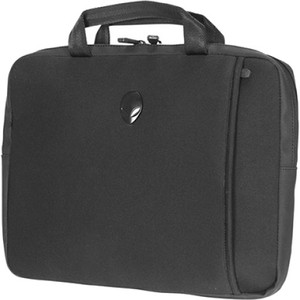 "Mobile Edge Alienware Vindicator Carrying Case (Sleeve) for 13"" Notebook, Power Adapter, Flash Drive, Accessories - Black"