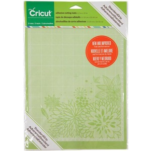"CRICUT 8.5"" x 12"" Standard Grip Adhesive Cutting Mats, 2-Pack"