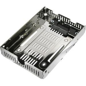 Icy Dock EZConvert Air Lite MB482SP-3B Drive Bay Adapter Internal - Chrome