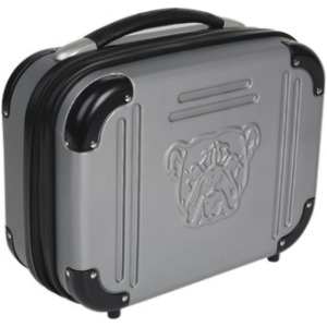 "Bulldog 9"" X 12"" X 5 Grey Molded Double Pistol Case with TSA Lock"