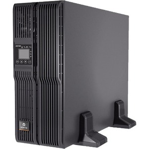 Liebert GXT4-10000RT208 UPS with 10000VA/9000W; rack slide kit; battery; & SNMP web card