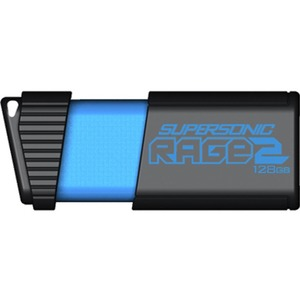 Patriot Memory Extreme Performance Supersonic Rage 2 USB Flash Drive (PEF128GSR2USB)