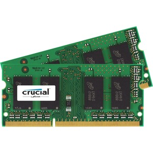 Crucial 8GB Kit (4GBx2) DDR3 PC3-14900 Unbuffered NON-ECC 1.35V