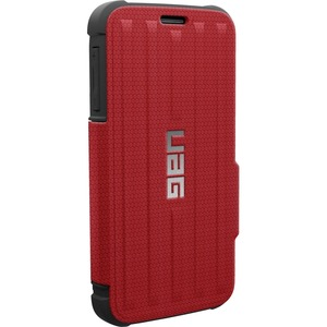 Urban Armor Gear Carrying Case (Folio) for Smartphone, Credit Card, Money, Card, Driving License - Red