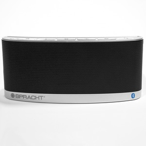 Spracht Blunote2.0 Speaker System - 10 W RMS - Portable - Battery Rechargeable - Wireless Speaker(s) - Black
