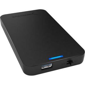 Sabrent EC-UASP Drive Enclosure External - Black