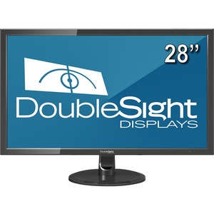 """DoubleSight Displays DS-280UHD 28"""" Ultra High Definition LCD Monitor TAA"""