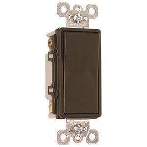 Pass & Seymour TradeMaster 15A 4-Way Decorator Switch, Dark Bronze