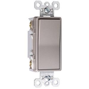 Pass & Seymour TradeMaster NAFTA-Compliant 15A 4-Way Decorator Switch, Nickel