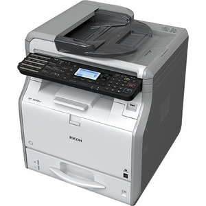 Ricoh SP 3610SF LED Multifunction Printer - Monochrome - Plain Paper Print - Desktop