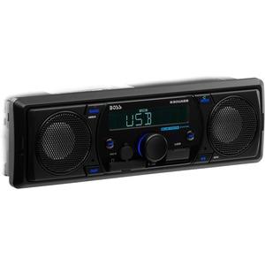 Boss Audio 630UASB Single-DIN MECH-LESS Receiver, Bluetooth, Wireless Remote