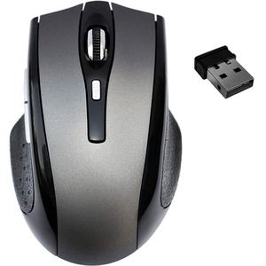 Premiertek 5 Buttons Wireless Cordless Optical Scrolling Wheel Mouse