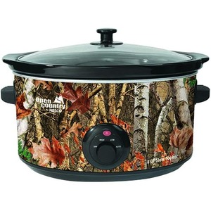 Open Country 8 Qt Slow Cooker - Woodland Birch Design