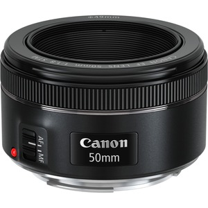 Canon - 50 mm - f/1.8 - Fixed Focal Length Lens for Canon EF
