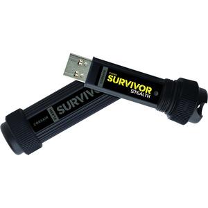 Corsair Flash Survivor Stealth 256GB USB 3.0 Flash Drive