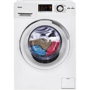 "Haier 24"" 2.0 Cubic Foot Front-Load Washer/ Dryer Combo HLC1700AXW"