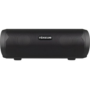 Nixeus 2.0 Speaker System - 5.4 W RMS - Portable - Battery Rechargeable - Wireless Speaker(s) - Black