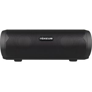 Nixeus 2.0 Speaker System - 5.40 W RMS - Portable - Battery Rechargeable - Wireless Speaker(s) - Black