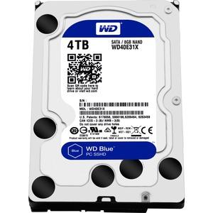 "WD Blue WD40E31X-00HY4A0 4 TB 3.5"" Internal Hybrid Hard Drive - 8 GB SSD Cache Capacity"