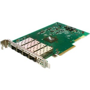 Solarflare Flareon Ultra SFN7124F Quad-Port 10GbE PCIe 3.0 Server I/O Adapter