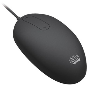 Adesso iMouse W2 - Antimicrobial Waterproof Touch Scroll Mouse