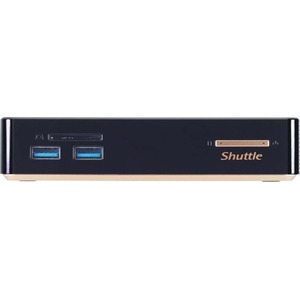 Shuttle XPC nano NC01U3 Desktop Computer - Intel Core i3 i3-5005U 2 GHz DDR3L SDRAM - Mini PC - Black