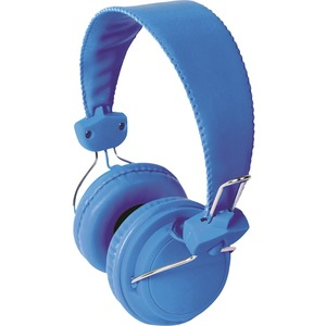 Hamilton Buhl Headset with In Line Microphone Blue