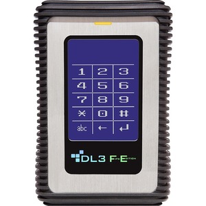 DataLocker DL3 FE (FIPS Edition) 2 TB Encrypted External Hard Drive with RFID Two-Factor Authentication