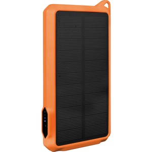10,000mAh Solar Power Bank with Dual USB