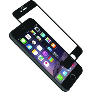 Cygnett AeroCurve Tempered Glass Aluminium Border iPhone 6 Plus - Black Black, Clear