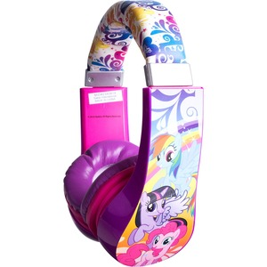 Sakar Kids My Little Pony Kids Safe Friendly Headphones