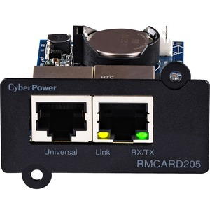 CyberPower RMCARD205 UPS & ATS PDU Remote Management Card - SNMP/HTTP/NMS/Enviro Port