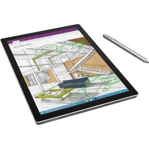 "Microsoft Surface Pro 4 Tablet - 12.3"" - 8 GB - Intel Core i5 (6th Gen) i5-6300U Dual-core (2 Core) 2.40 GHz - 256 GB SSD - Windows 10 Pro - 2736 x 1824 - PixelSense - Silver"