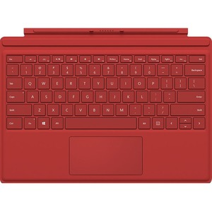 Surface Pro 4 Type Cover Red