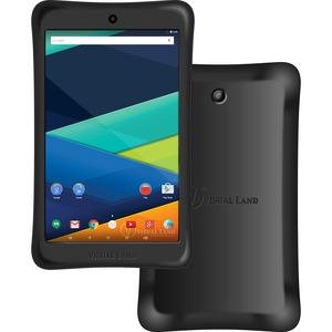 "Visual Land Prestige Elite 8QI ME8QIBP16GBBLK Tablet - 8"" - 1 GB LPDDR3 - Intel Atom x3 x3-C3230RK Quad-core (4 Core) 1.20 GHz - 16 GB - Android 5.1 Lollipop - 1280 x 800 - In ...(more)"