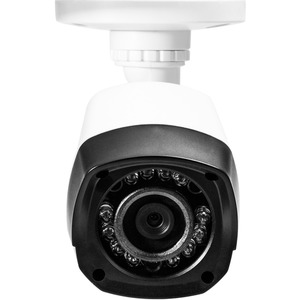 Q-See QCA7207B 720p High Definition Analog, Plastic Housing, Bullet Security Camera (White)