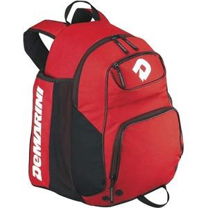 DeMarini Aftermath Carrying Case (Backpack) for Baseball Bat - Scarlet