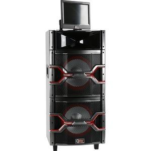 QFX SBX-921000 Speaker System - Wireless Speaker(s) - Black