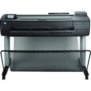 """HP Designjet T730 PostScript Inkjet Large Format Printer - 36"""" Print Width - Color"""