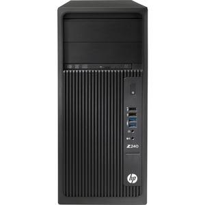 HP Z240 Workstation - 1 x Intel Core i7 (6th Gen) i7-6700 Quad-core (4 Core) 3.40 GHz - 8 GB DDR4 SDRAM - 1 TB HDD - Intel HD Graphics 530 Graphics - Windows 7 Professional 64 ...(more)