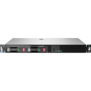 HP ProLiant DL20 G9 1U Rack Server - 1 x Intel Xeon E3-1220 v5 Quad-core (4 Core) 3 GHz - 8 GB Installed DDR4 SDRAM - Serial ATA/600 Controller - 0, 1, 5, 10 RAID Levels - 1 x ...(more)