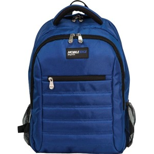"Mobile Edge Carrying Case (Backpack) for 17"" MacBook, Notebook, Tablet - Royal Blue"