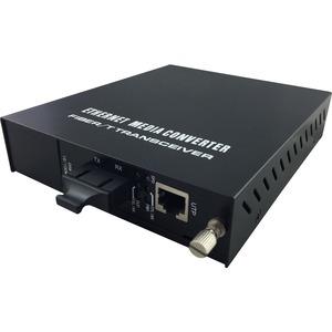 LevelOne RJ45 to SC Managed Fast Ethernet Media Converter, Multi-Mode Fiber