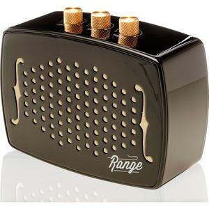 Bem Range Speaker System - Portable - Battery Rechargeable - Wireless Speaker(s) - Ebony