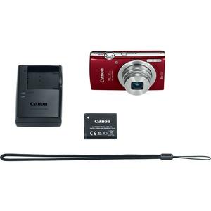 Canon PowerShot 180 20 Megapixel Compact Camera - Red